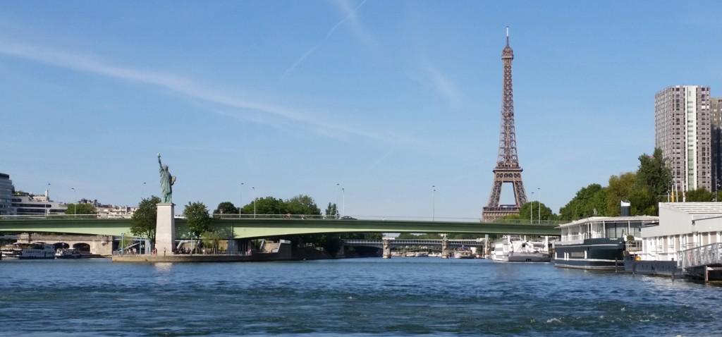Liberté et Eiffel 50x23